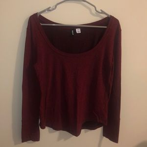 BDG Maroon Sweater